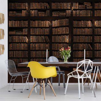Bookshelves Tapéta, Fotótapéta