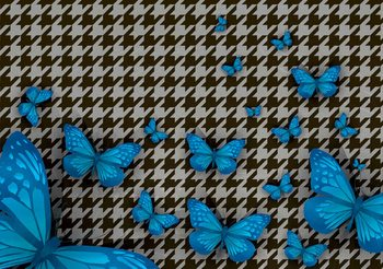 Butterflies Tapéta, Fotótapéta