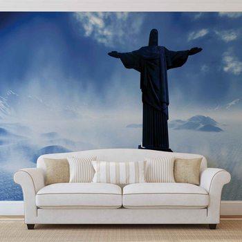 Christ Redeemer Rio Tapéta, Fotótapéta