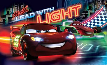Disney Cars Lightning McQueen Bernoulli Fali tapéta