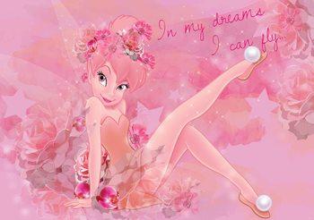 Disney Fairies Tinker Bell Fali tapéta