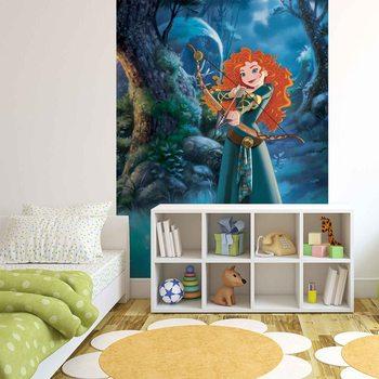 Disney Princesses Merida Brave Fali tapéta