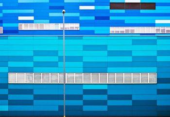 Fifty Shades Of Blue Tapéta, Fotótapéta