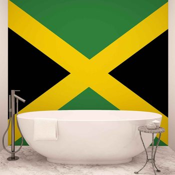 Flag Jamaica Tapéta, Fotótapéta