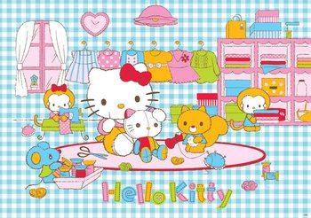 Hello Kitty Fali tapéta