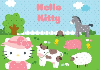 Hello Kitty Fali tapéta