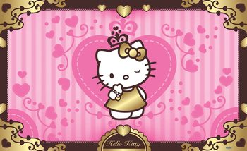 Hello Kitty Tapéta, Fotótapéta