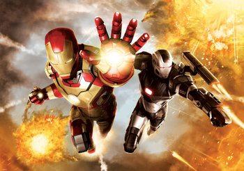 Iron Man Marvel Avengers Fali tapéta