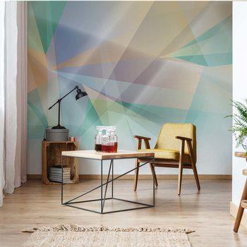 Modern Abstract Art Prism Tapéta, Fotótapéta