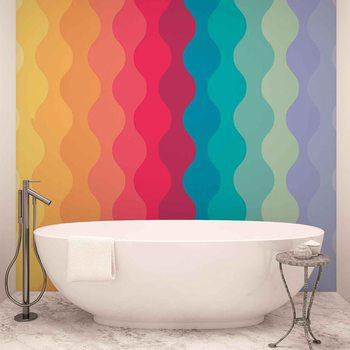 Modern Art Rainbow Tapéta, Fotótapéta