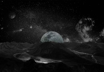 Moonscape Tapéta, Fotótapéta