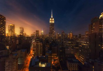 Nyc Empire State Building Tapéta, Fotótapéta