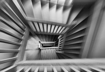 Old Staircase Tapéta, Fotótapéta
