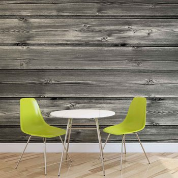 Pattern Grey Wooden Tapéta, Fotótapéta
