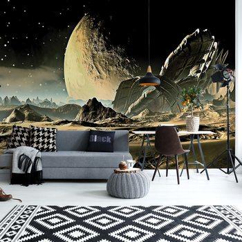 Planets Galaxy Outer Space Tapéta, Fotótapéta