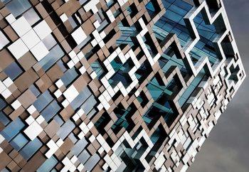 Puzzle Facade Tapéta, Fotótapéta
