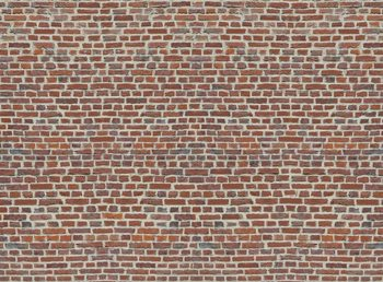 Red Brick Wall Fali tapéta