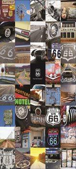 Route 66 Fali tapéta