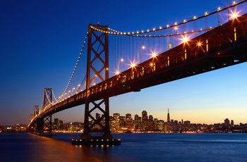 SAN FRANCISCO - skyline Fali tapéta