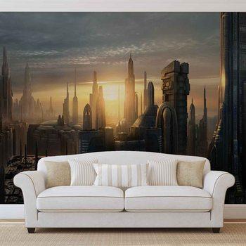 Star Wars City Coruscant Tapéta, Fotótapéta