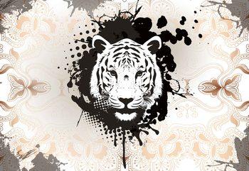 Tiger Abstract Tapéta, Fotótapéta