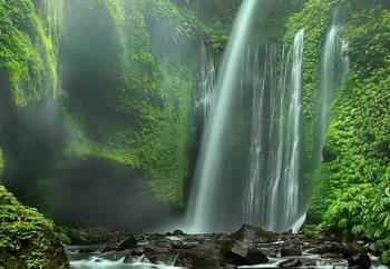 Tiu Kelep Waterfalls Tapéta, Fotótapéta