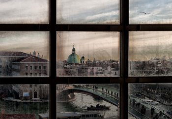 Venice Window Tapéta, Fotótapéta