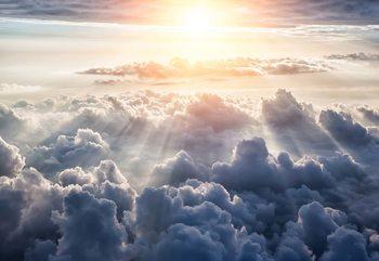 Above The Clouds Sky Fototapeta