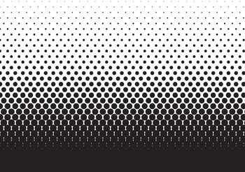 Abstract Black Black Dots Fototapeta
