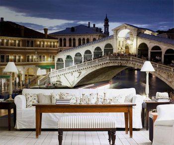 Benátky - Most Rialto Fototapeta