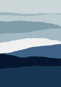 Blue Abstract II Fototapeta