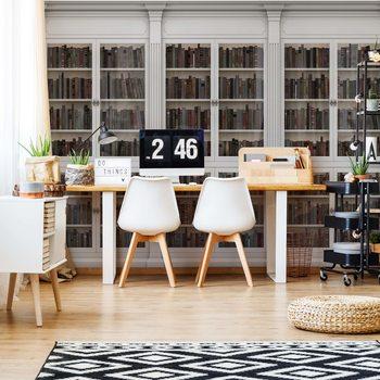 Bookshelves Fototapeta