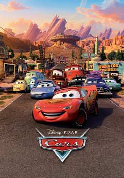 Cars - Characters Fototapeta