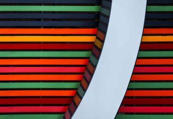 Colour Stripes Fototapeta