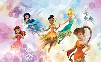 Disney Fairies Iridessa Fawn Rosetta Fototapeta