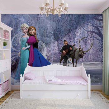 Disney Frozen Elsa Anna Fototapeta