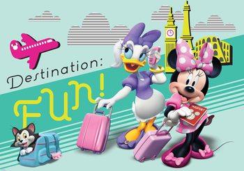 Disney Minnie Mouse Fototapeta