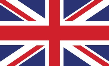 Drapeau Grande-Bretagne Royaume-Uni Fototapeta