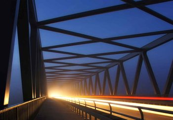 Early Morning Traffic Fototapeta