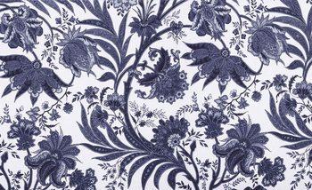 Flowers Plants Pattern Vintage Fototapeta