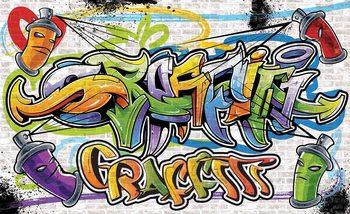 Graffiti Street Art Fototapeta