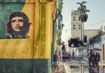 Grafitti En La Habana Vieja Fototapeta