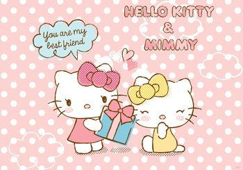 Hello Kitty Fototapeta