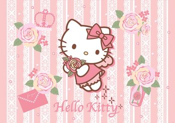 Hello Kitty Fototapeta