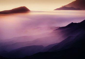 Land Of Fog Fototapeta