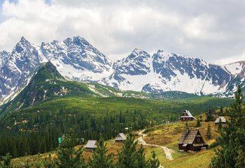 Mountains Alps Fototapeta