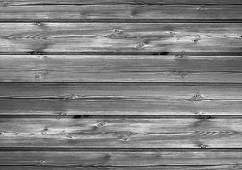 Pattern Grey Wooden Fototapeta