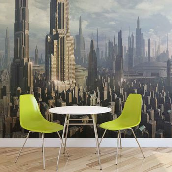 Star Wars City Coruscant Fototapeta