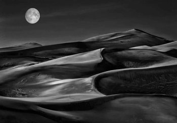 The Night Walked Down The Sky Fototapeta