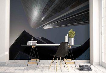 The Rhythm Of Glass And Concrete Fototapeta